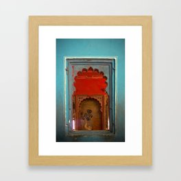 Through Palace Walls Framed Art Print