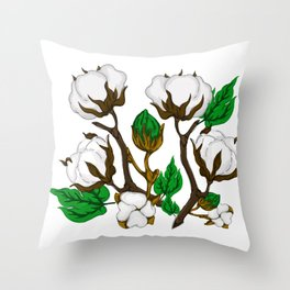 Simple Cotton Throw Pillow