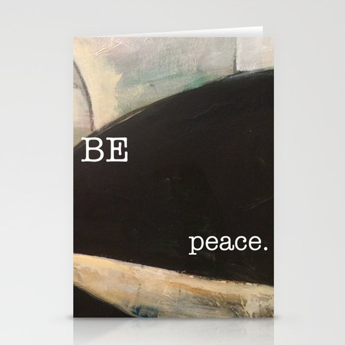 may you be peace. Stationery Cards