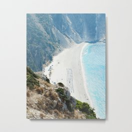 marine collection. Greece. Kefalonia Metal Print