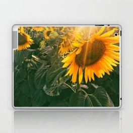 summer in the fields Laptop & iPad Skin