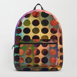 MELANGE of VIOLET and RUST Backpack