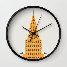 Chrysler Building New York Wall Clock