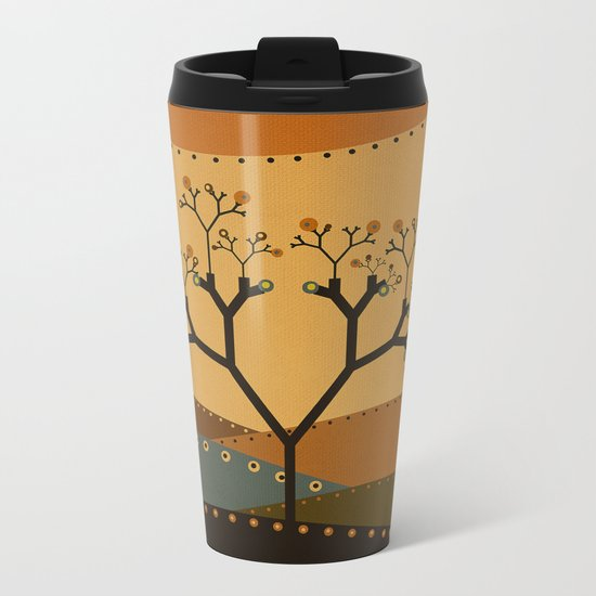 Textures/Abstract 142 Metal Travel Mug