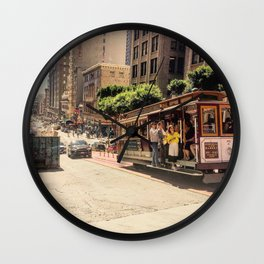 Downtown SF Wall Clock