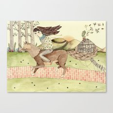 Seeking Home Canvas Print