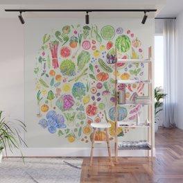 Seasonal Harvests - Neutral Wall Mural