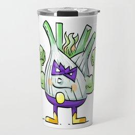 Funk Up Fennel Foodietoon Veggie Superheroes Travel Mug