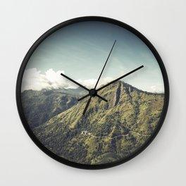 Ella Rock, Sri Lanka Wall Clock