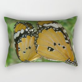 Butterfly mirror Rectangular Pillow
