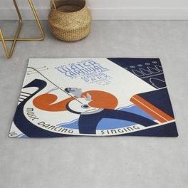 Vintage poster - Water Carnival Rug