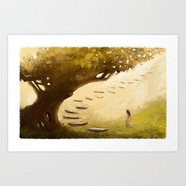 The Infinity Tree Art Print