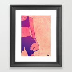 Boxing Club 3 Framed Art Print