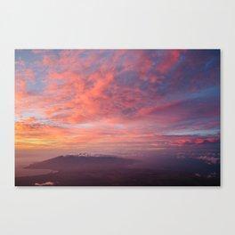 Haleakala Summit Sunset Canvas Print