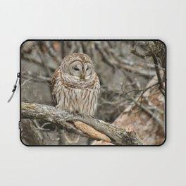 Sleepy Owl Laptop Sleeve