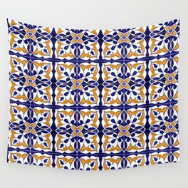 Talavera Mexican Tile Wall Tapestry