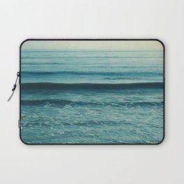 beach waves. Somewhere Laptop Sleeve