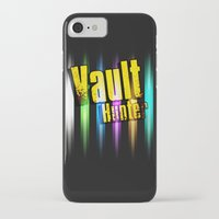 borderlands iPhone & iPod Cases featuring Borderlands Tribute -  Vault Hunter by ReverendRyu