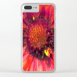 Extreme Indian Blanket Clear iPhone Case