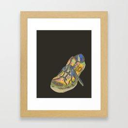 Sneaker Slob Framed Art Print