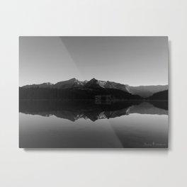 Two Jack Lake Metal Print