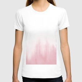 Pink watercolor T-shirt