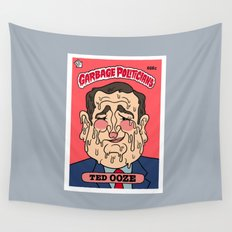 Ted Ooze Wall Tapestry