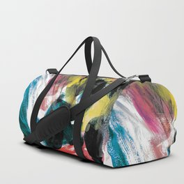 Abstract Artwork Colourful #3 Duffle Bag