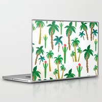 palm Laptop & iPad Skins featuring palm by Ceren Aksu Dikenci