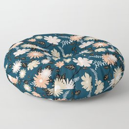 Marseille - Floral Pattern Floor Pillow
