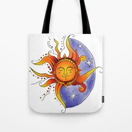 Euphoric Sun in Color Tote Bag