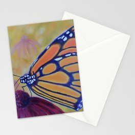 King of butterfly | Le roi des papillons Stationery Cards