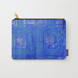 Blue Series_Block Print II Carry-All Pouch