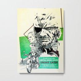 Metal Gear Solid Metal Print
