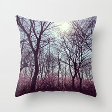 Good Morning Spring Throw Pillow