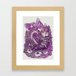Peaceful Jungle Framed Art Print