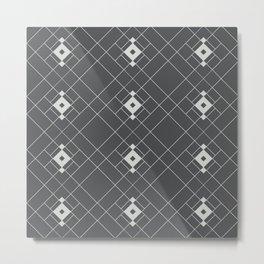 Royal Tiles (Metal) Metal Print