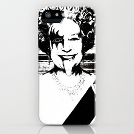 Save The Queen iPhone Case