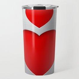 Valentines's Day Heart Travel Mug
