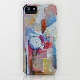 Floating Sideways iPhone Case