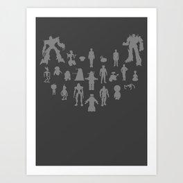 Robots - Various Art Print