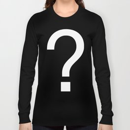Mystery nerd T-shirts Long Sleeve T-shirt