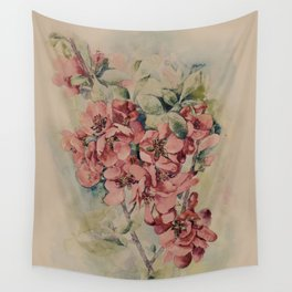 Flowering Japanese quince 2 Wall Tapestry