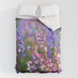 Ladder Flowers Comforters