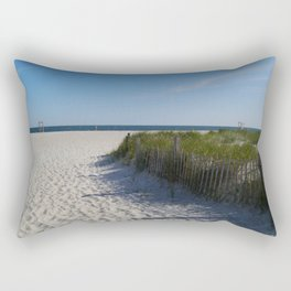 Welcome To A Cape Cod Beach Rectangular Pillow