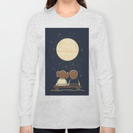 You and me and the moon Long Sleeve T-shirt