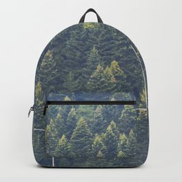 Forest autumn greece Backpack