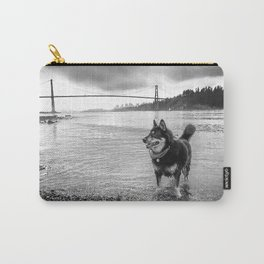 Canadian German Shepherd Carry-All Pouch