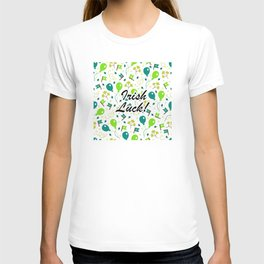 Luck 'O The Irish Pattern T-shirt