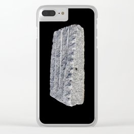 Stone 1 Clear iPhone Case